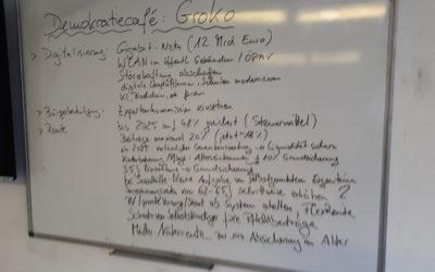 5. Demokratiecafé: GroKo und neue Regierung