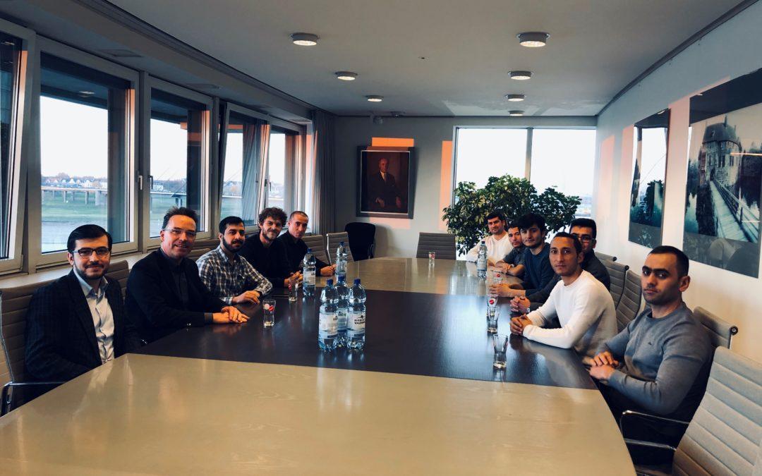 Besuch im Landtag NRW