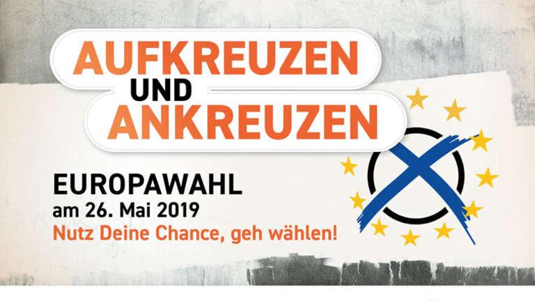 Aufruf zur Europawahl am 26. Mai 2019